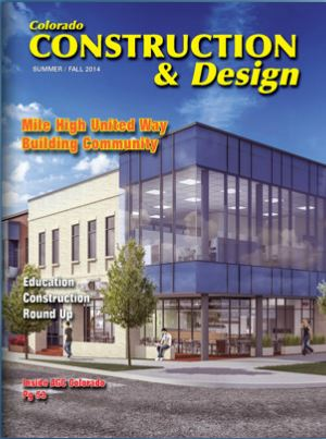 Colorado Construction and Design, magazine cover