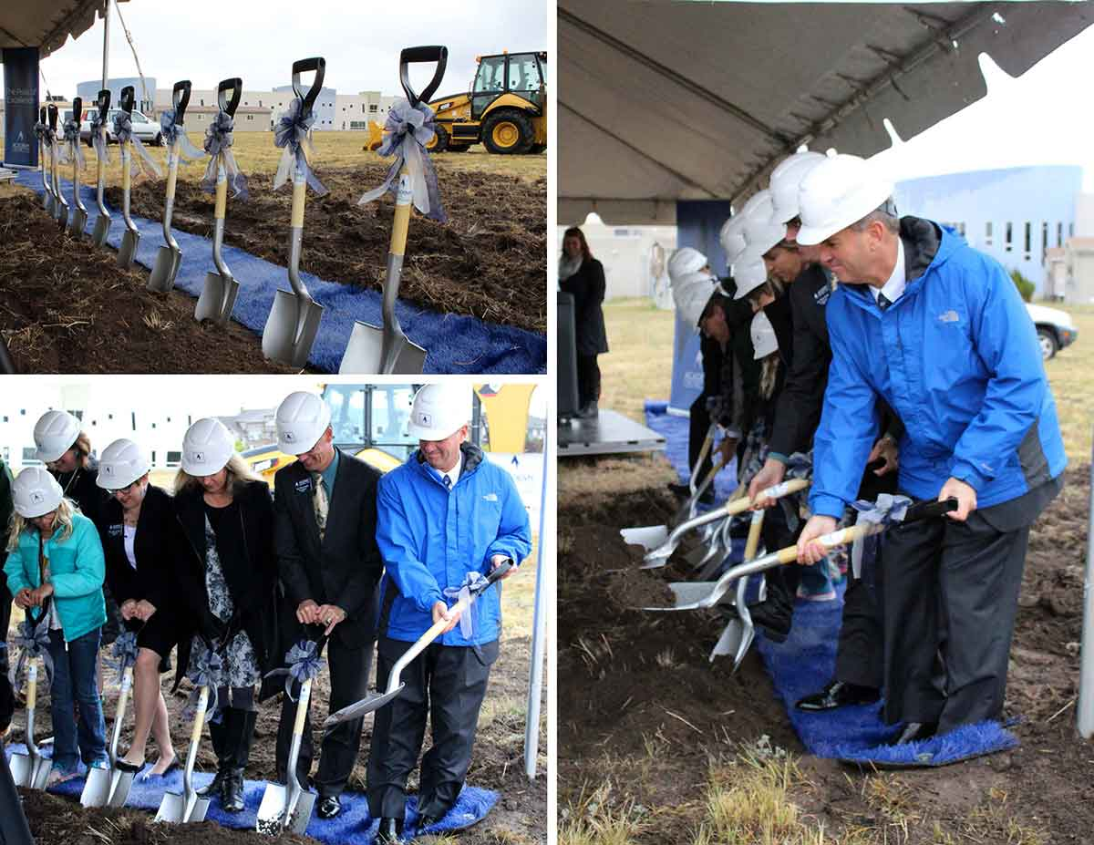 Chinook MS Groundbreaking Collage lo