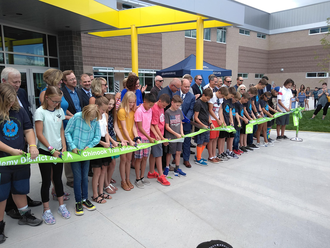 Chinook Trail Middle School Ribbon Cutting 3