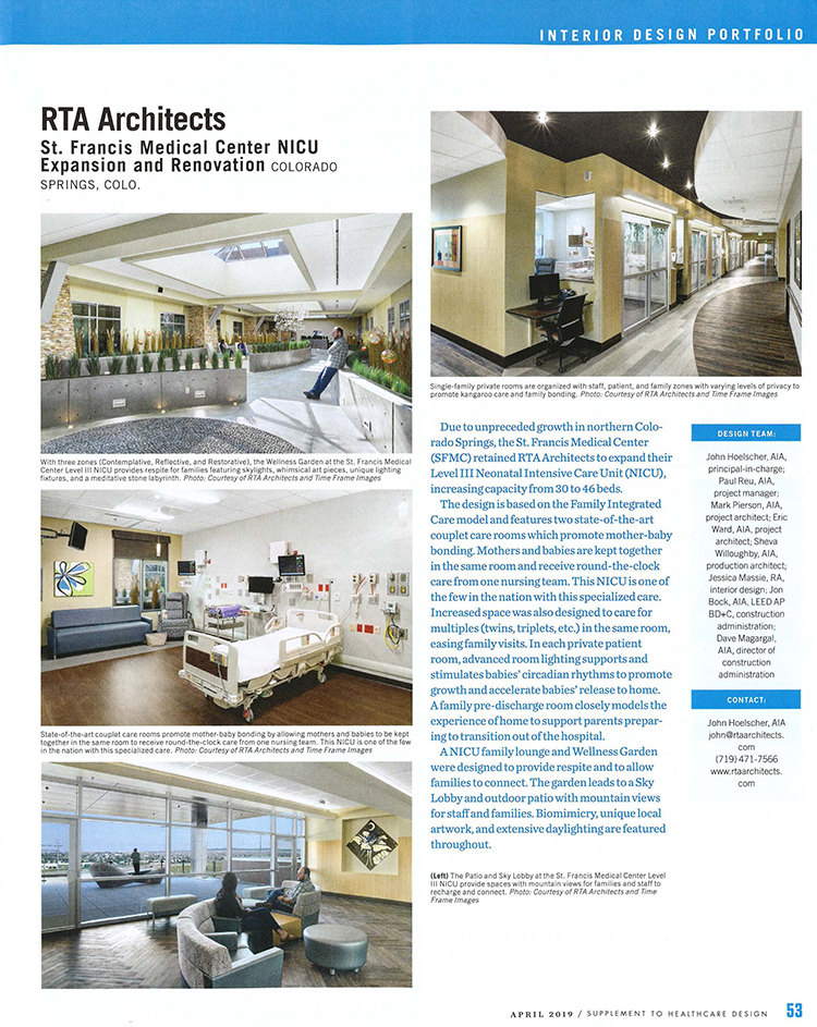 Health Care Rta Architects