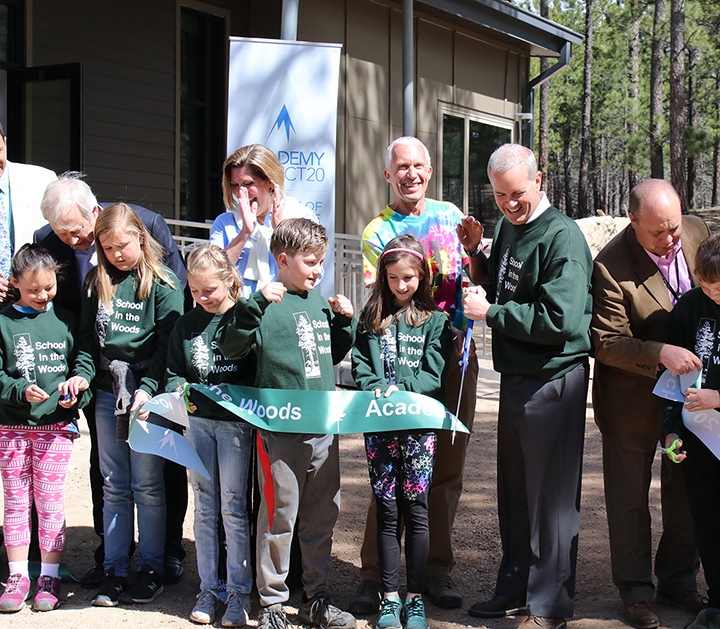 School in the Woods RibbonCutting
