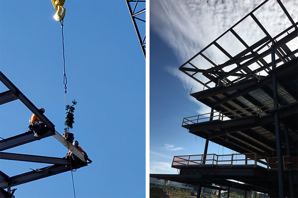 UCCS Hybl ToppingOut combined