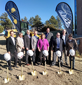 UCCS SMPC Groundbreaking DB Team sm