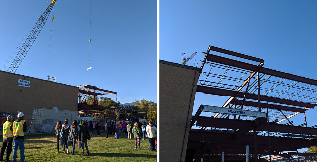 canon city topping out collage