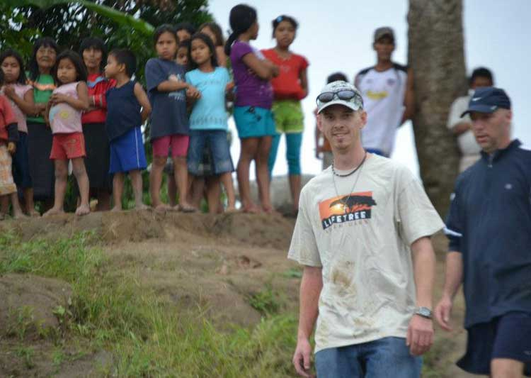 Jon Bock at Peruvian Amazon Rainforest