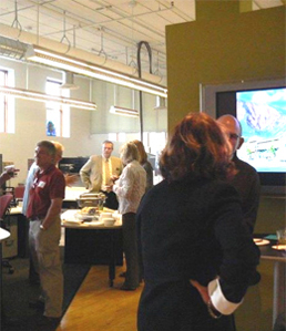 Downtown Partnership mixer