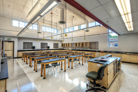 Jeffco high school science room