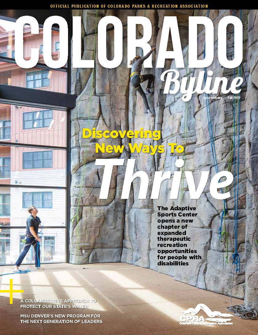colorado byline magazine fall 2019 adaptive sports center Page 1